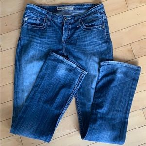 Big star size 27 extra long jeans